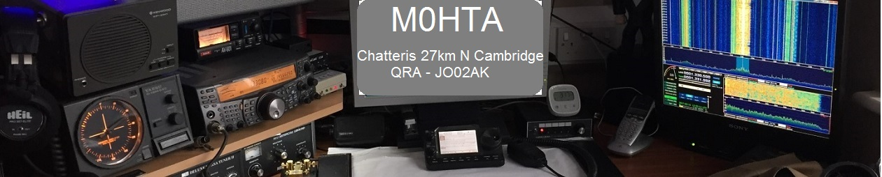 Chatteris Weather & M0HTA Blog Pages