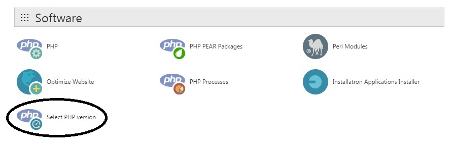 PHP page