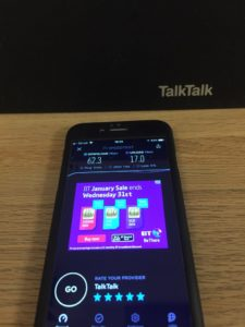 speedtest talktalk