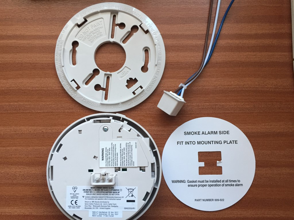 BRK 86RAC Smoke Detector Replacement and Additions
