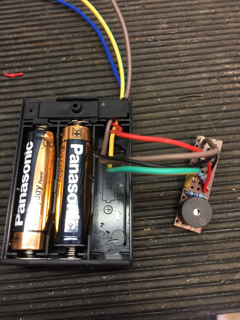 Chatteris Weather M0hta Blog Pages Wiring A British General Garage Consumer Unit All The Parts Fit Neatly Inside Battery Box In Space Left By Lack Of One Aa Batteries Works On 3v So Only Two Are
