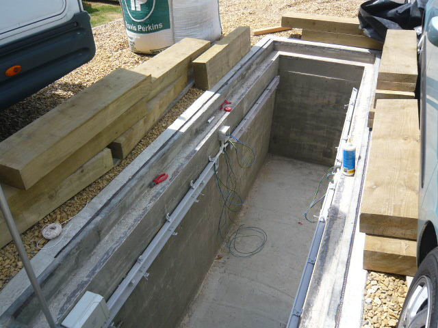 inspection pit build steel pits and pit covers